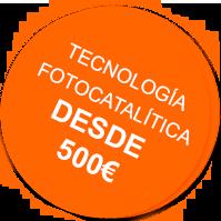 Tecnología fotocatalítica