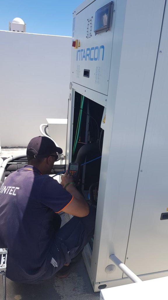 Técnico refrigeración industrial